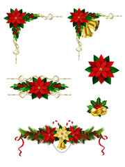 Christmas elements for your designs