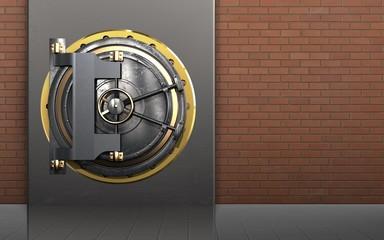 3d safe vault door