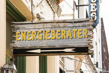 Schild 279 - Energieberater