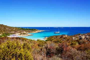 Porto Cervo Strand Urlaubsort Costa Smeralda Sardinien