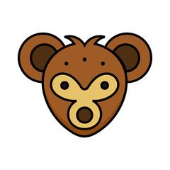 Koala icon animal zoo vector design illustration