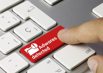Adwares detected