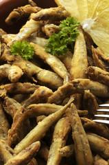 Pescado frito Frittura di pesce Peixe frito Paranza Fish fry gebratener Fisch Smażona ryba pește prăjit Poisson frit