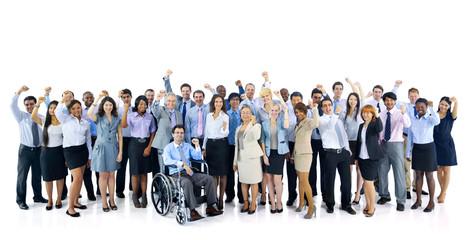 Fototapeta Group of diverse business people