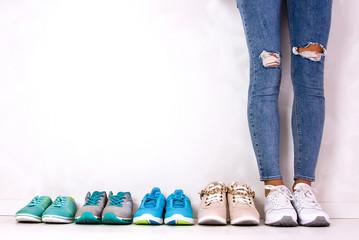 Choosing sports shoes