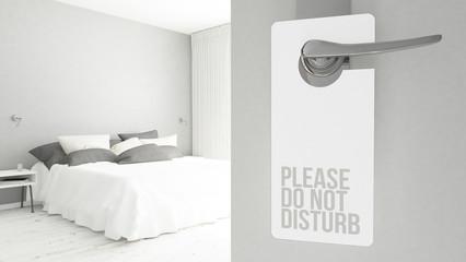 door hanger do not disturb