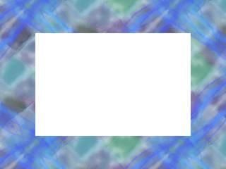 フレーム・カード  sea blue1