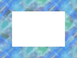 フレーム・カード  sea blue2