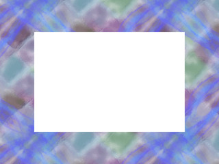 フレーム・カード  sea blue3