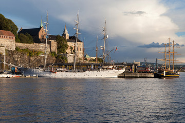 Akershus Fortress and the Old Port