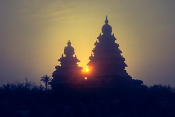 Sunrise at Mahabalipuram