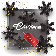 Vector Christmas, Black Friday, Cyber Sale, Boxing Day, Weekend Sale, Holiday advertising, promo logo symbols, shopping cards, sale banner, price tag, gift card, voucher design.