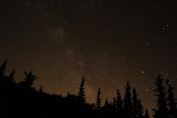 Noche de estrellas en Toledo, España
