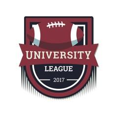 university sport logo