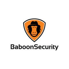 Baboon Security - Logo Template