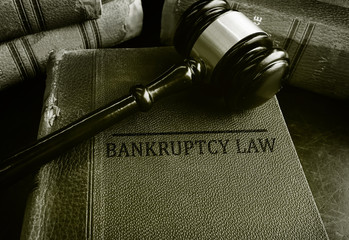 Gavel on Bankruptcy law books