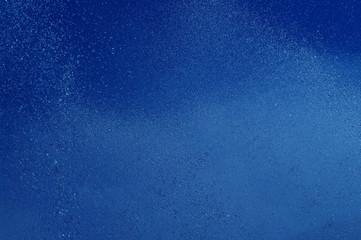 blue summer raindrops falling