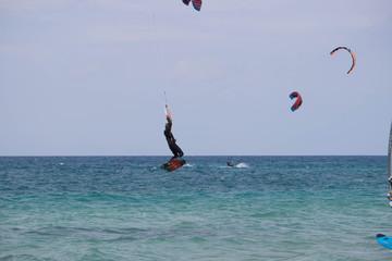 surfer al mare