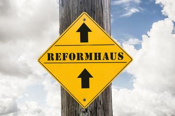 Schild 271 - Reformhaus