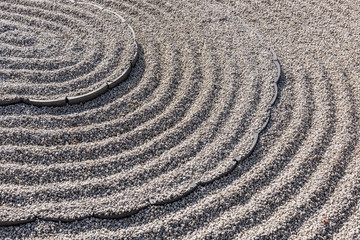 Japanese Zen Garden Rock
