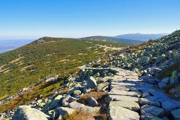 Kammweg im Riesengebirge - ridgeway in Giant Mountains