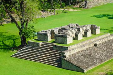 Copan ruins in the archeological site, Copan Ruinas, Honduras, Central America