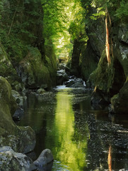 River Conwy at Fairy Glen