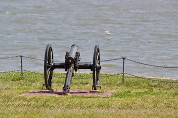 Small Cannon, Fort Sumter