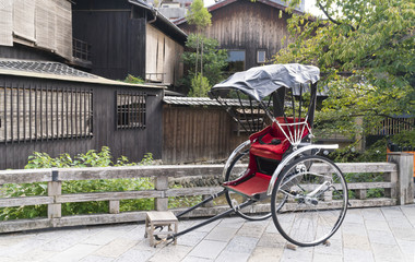 人力車イメージ 京都 祇園