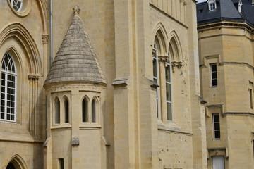 Caen; France - july 17 2017 : duke palace