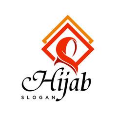 Square frame Hi jab logo
