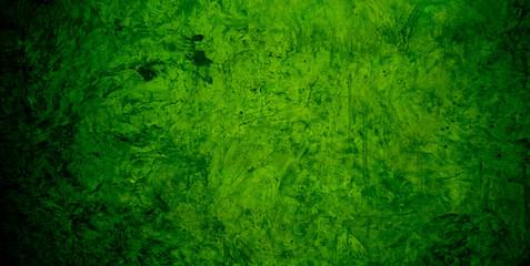 green mortar background texture / green wall