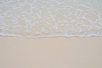 beautiful beach and sea . summer time . seascape. nice ocean.wave