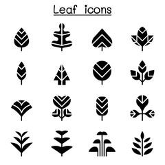 Leaf & Tree icon set