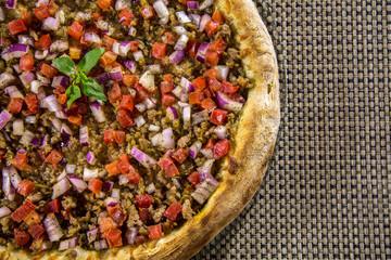 pizza brazilian food cuisine