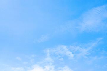 soft blue sky  nature background
