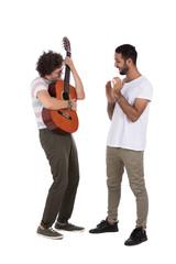 gifting guitar