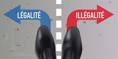 légalité - illégalité - fraude - délinquance - justice, corruption - homme d'affaires