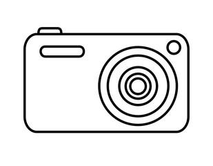 デジタルカメラ(線画)