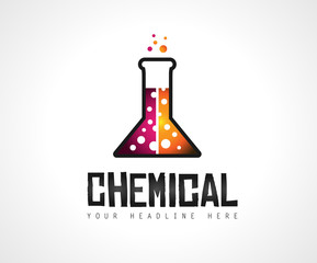 Creative Chemical Colorful  Logo design for brand identity, company profile or corporate logos