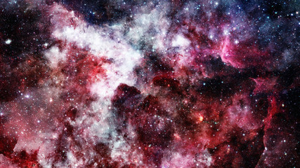 Nebula and star field against space. Elements of this image furnished by NASA.