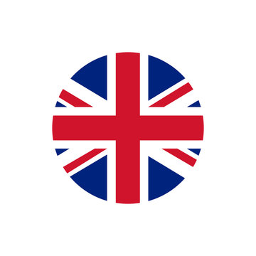 UK of Great Britain flag, official colors and proportion correctly.