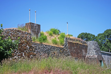 Wall Murals Fortification Fort Rodd, Vancouver Island