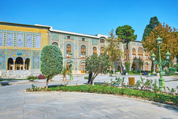 The Golestan complex in Tehran