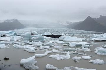 Jokulsarlon , Glacier lagoon, Iceland