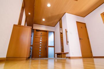 開放的な玄関