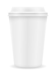 paper cup for coffee stock vector illustration