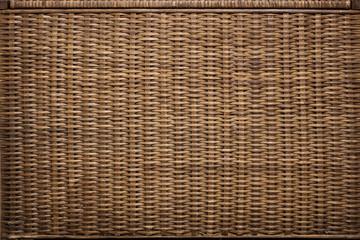 Wicker basket texture. Background