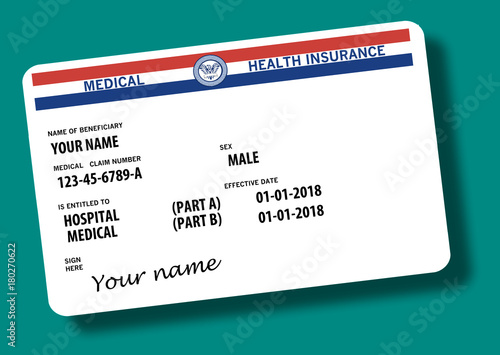 generic medicare card very generic medicare name is not used on the card