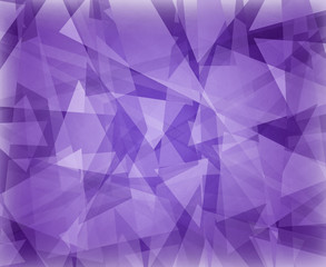 abstract purple background design with white floating triangles in layers classy elegant website template